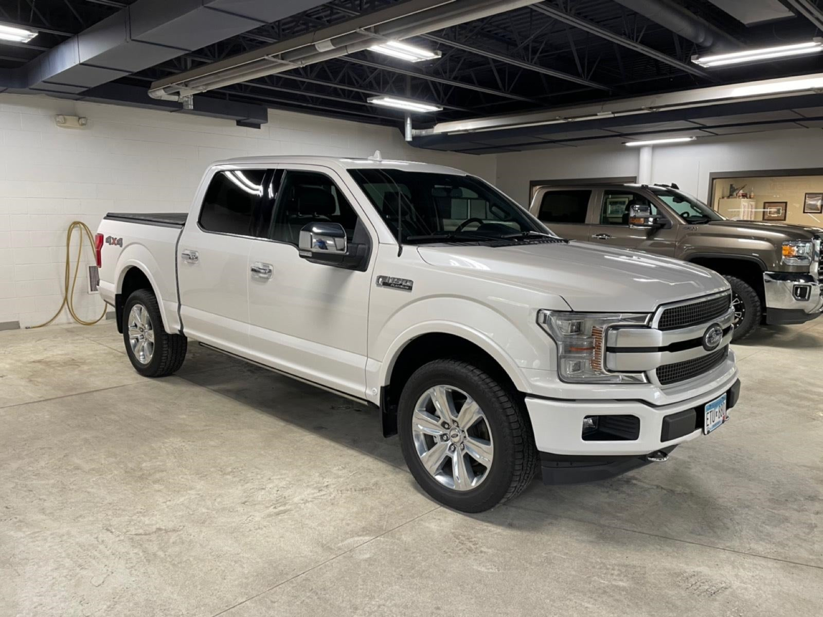 Used 2019 Ford F-150 Platinum with VIN 1FTEW1E45KFC08719 for sale in New Ulm, Minnesota
