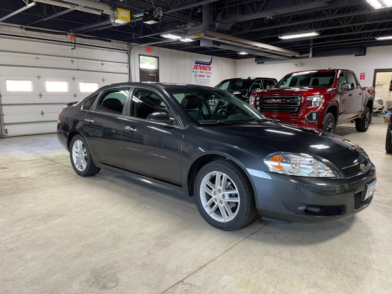 Used 2014 Chevrolet Impala 1LZ with VIN 2G1WC5E37E1190370 for sale in New Ulm, Minnesota