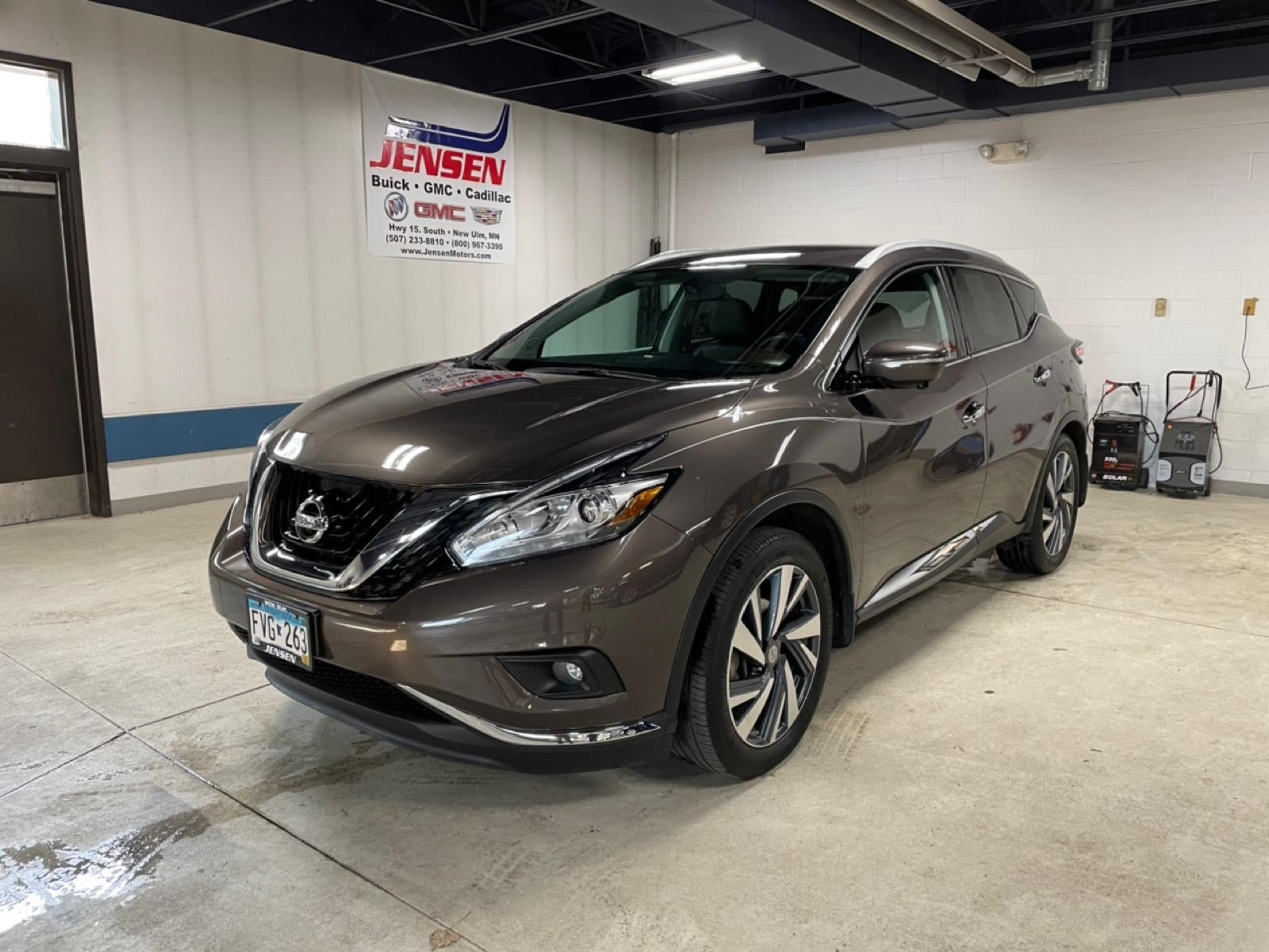 Used 2015 Nissan Murano Platinum with VIN 5N1AZ2MH9FN204633 for sale in New Ulm, Minnesota